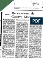 Redescoberta de Gustave Moreau