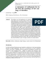 Euthanasia and Law Heleen Weyers