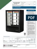 True GDM 33CPT 54 Merchandiser