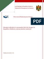 141429774 Situaţia Traficului Şi Consumului Ilicit de Droguri in Republica Molodva Sinteza Datelor Existente