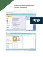 Tutorial Para Utilizar Formatos de Word e Internet en Correspondencia Comercial