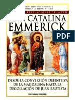 Visiones y Revelaciones de Ana Catalina Emmerich - Tomo 7