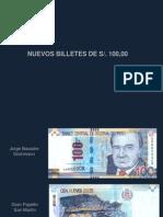 Seguridad Billetes 100
