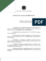Resolução 35 CNJ