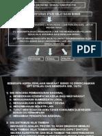 Aspek Sosial, Ekonomi & Politik(Kuliah IV)