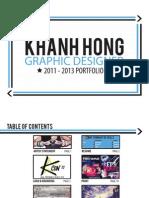 Graphic Design Portfolio 2011-2013