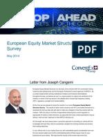ConvergEx European Equity Market Structure Survey