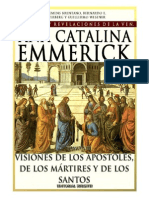 Visiones y Revelaciones de Ana Catalina Emmerich - Tomo 13