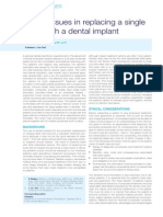 SADJ May 2014 - Ethical Issues in Replacing a Single Tooth With a Dental Implant