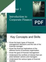 Fundamentals of Corporate Finance  Chap 001