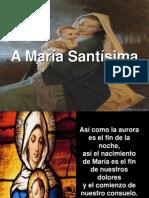 María en El Pensamiento de Los Santos.
