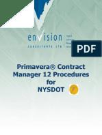 NYSDOT Contract Manager Training Manual (2)