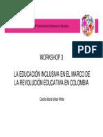 Cecilia Vélez - Educacion Inclusiva