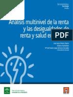 Análisis Multinivel de La Renta y Las Desigualdades de Renta y Salud en España JJ Martin 2011