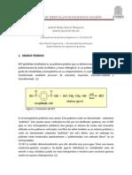 Hidrólisis de Tereftalato de Polietileno