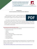 Metodologie Privind Elaborarea Lucrarilor de Finalizare a Studiilor