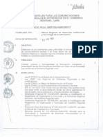 Directiva Gerencial Oficios , Memmorandooos