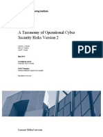 A Taxonomy of Operational Cyber Security Risks Version 2