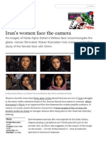 Iran's women face the camera | David Parkinson | Film | theguardian.com