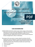 Operations Strategy - FPL Quality Improvement Case