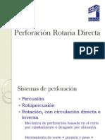 Perforación Rotaria Directa