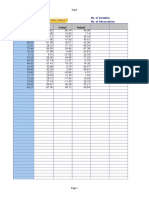 Regression Forecasting
