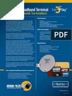 Sat3Play Broadband Terminal TP200 R3