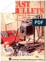 Cast Bullets by Col. E. H Harrison NRA {1979]