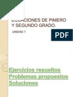 ECUACIONES Ejercicios Prop Sol