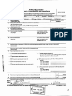 IRS filing for Change Maryland a 527 from 2014