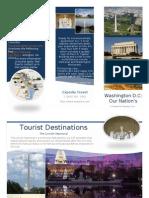 sample student travelbrochure
