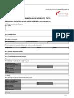 Perfil Proyecto VACIO