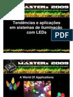 Tendências e aplicações em sistemas de iluminação com LEDs