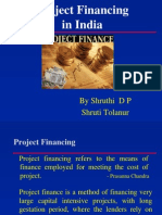 Project Financing in India Ppt