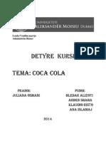 Detyra e Kursit Vendim Marrje Coca Cola