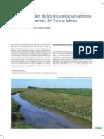 Humedales de Los Tributarios Santafesinos y Bonaerenses Del Paraná Inferior