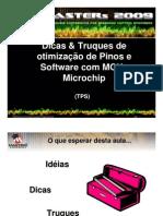 Dicas & Truques de otimização de Pinos e Software com MCUs Microchip