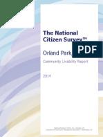 Orland Park Community Livability Report