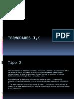 Termopares J,K