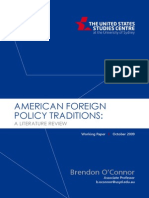 0910 Oconnor Usforeignpolicy