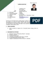 Curriculum Vitae Billy Edson Chamana -Resumen