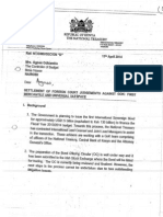 Letter From Treasury Requesting Director of Budget to Grant Credit to Pay