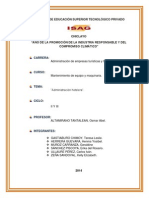 Monografia de Administracion Hotelera