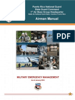 Military Emergency Management (1ABG Airman Manual Chapter 8)