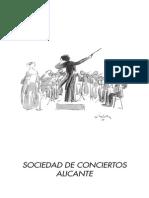 Aula Cultura Alicante. Concierto de la Sociedad de Conciertos de Alicante. Mayo 2014. Fundación Caja Mediterráneo