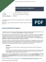 Boletim Técnico - Controle de Acesso a Grupos de Ocorrências - Linha RM - TDN