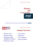Resume Cover Letterss