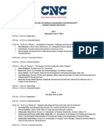 Update Event Agenda