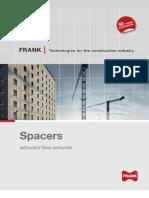 010 FRANK SL Spacers Extruded Fibre Concrete