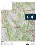Defense-Related Uranium Mines location map for San Miguel County, Colorado